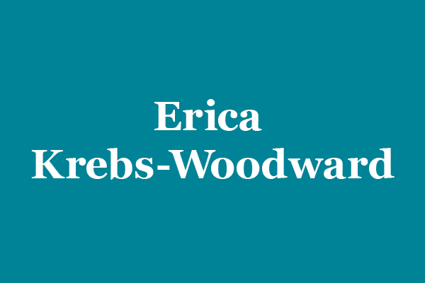 Erica Krebs-Woodward