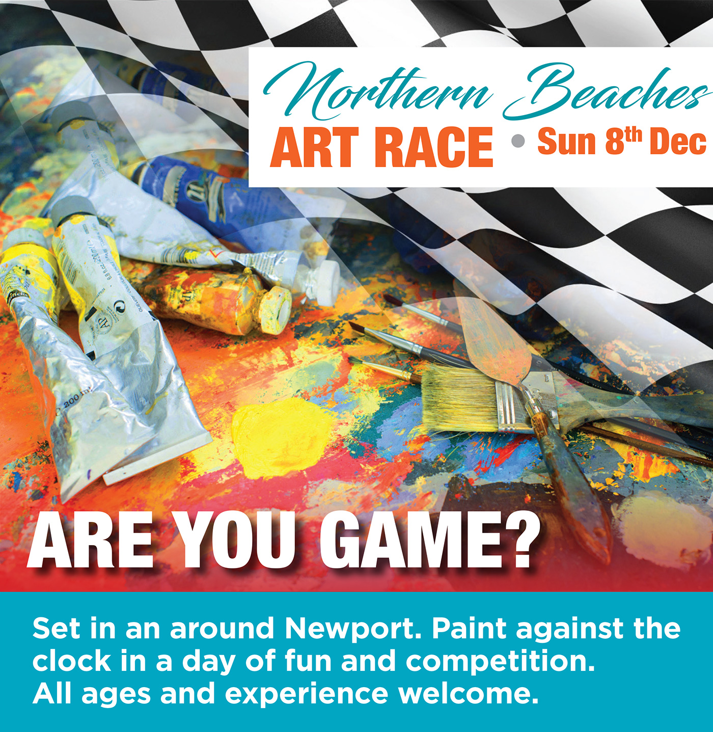 The Great Northern Beaches Art Race - 2019 -Call to Artists